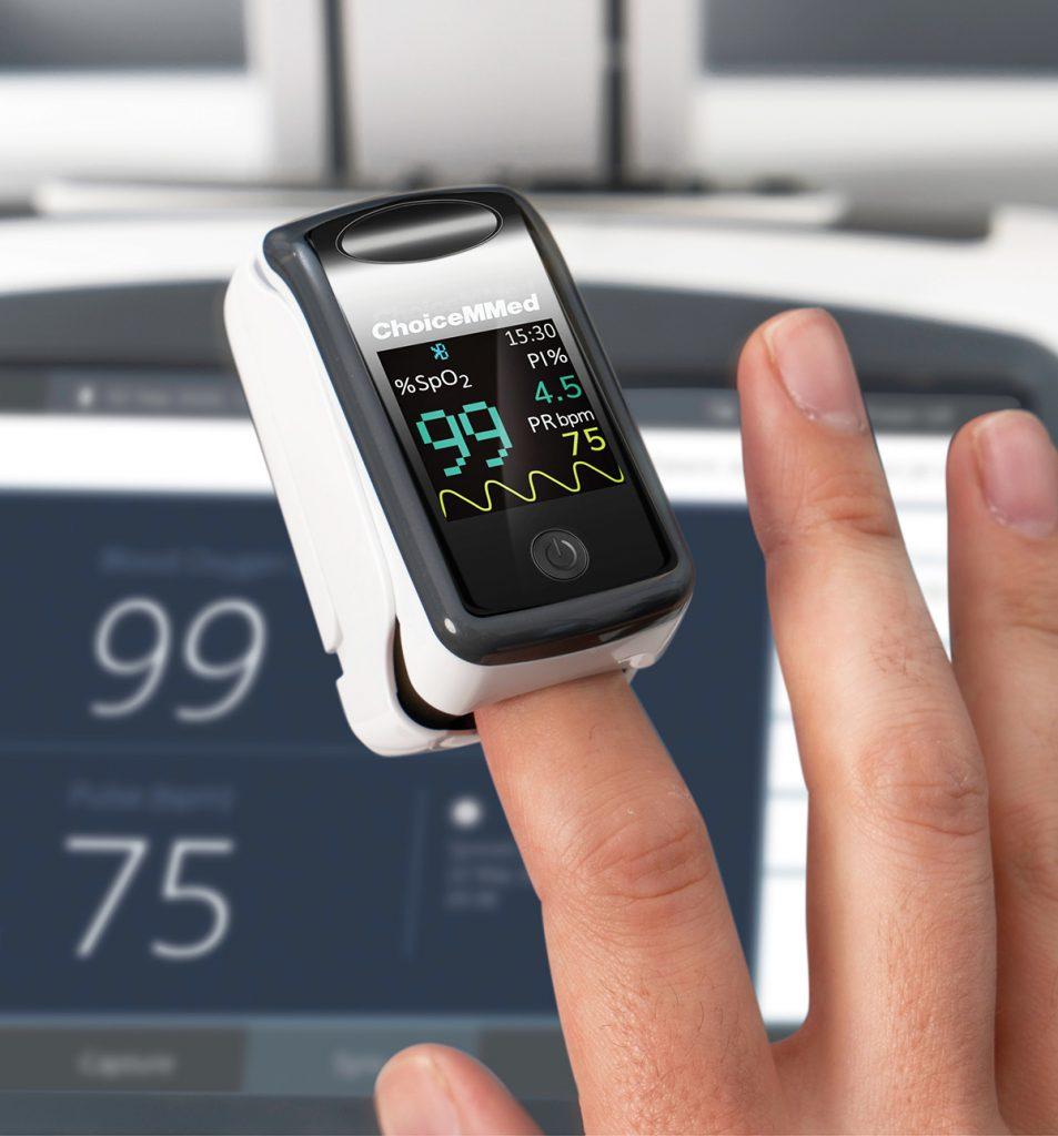 Visionflex peripherals pulse oximeter wireless